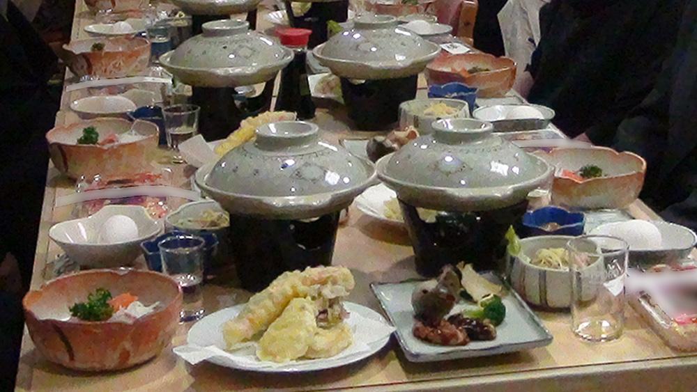 奥尻島の旅館や民宿の料理に興味津々